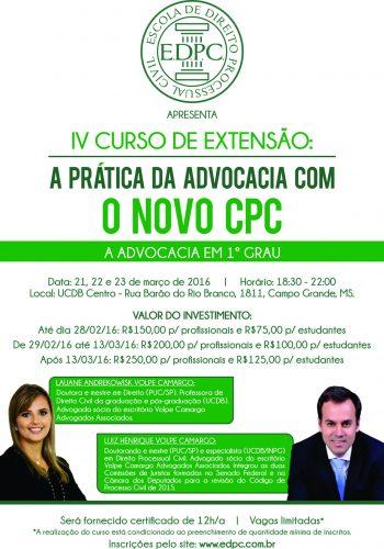 Panfleto CPC IV verde