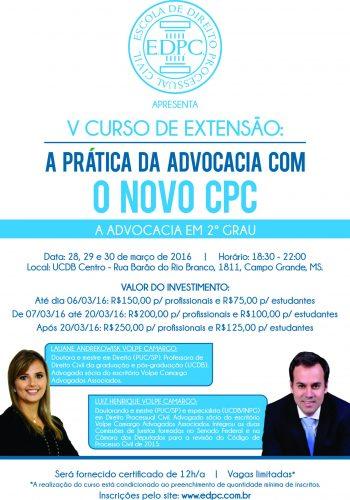 Panfleto CPC V azul