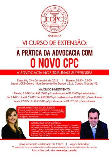 Panfleto CPC VI vermelho