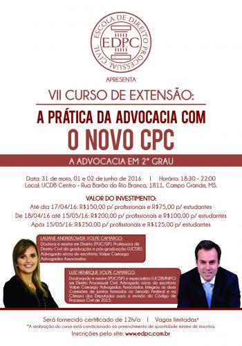 Panfleto CPC VII marrom